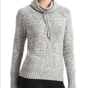 Athleta cowl neck 100% merino wool soft sweater